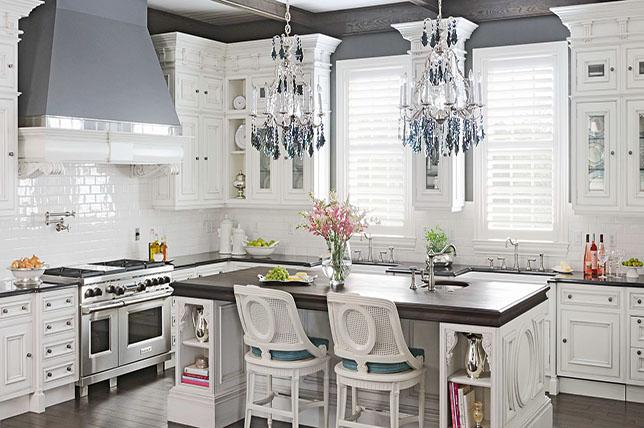 Shabby chic decor kitchen ideas