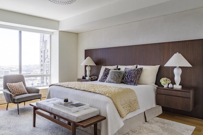 Master bedroom symmetry