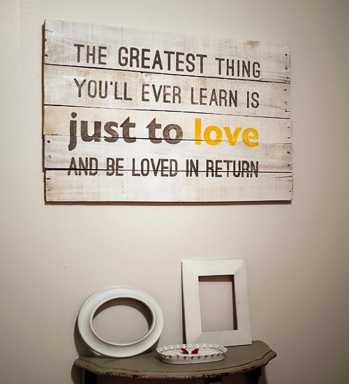 Wall art quotes design faux pas