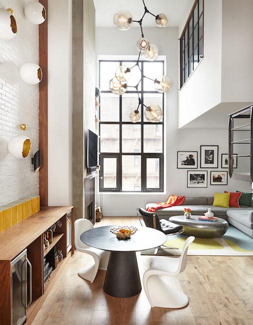 Light dimmer loft room