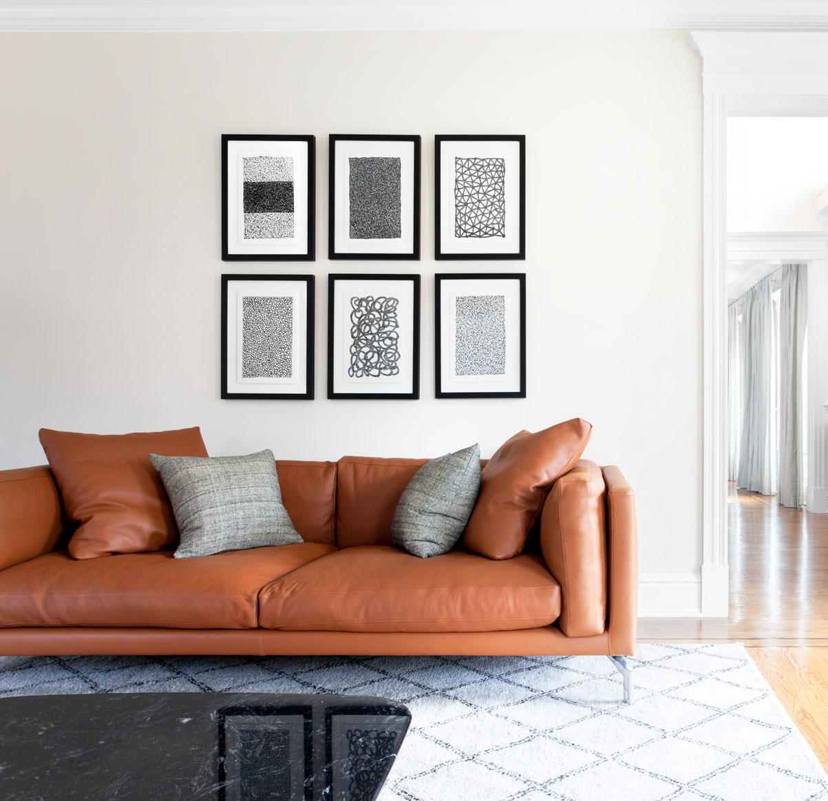 low furniture high ceilings