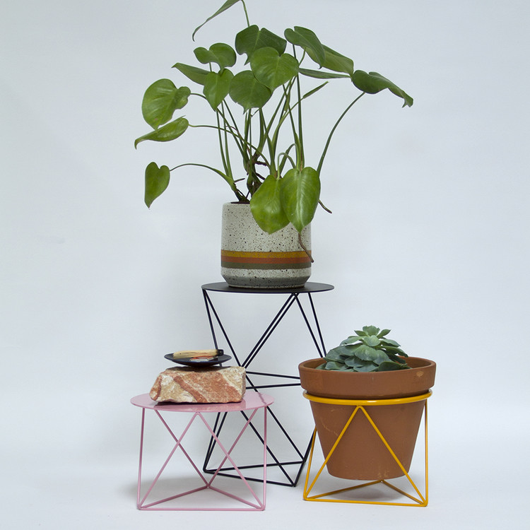Octahedron ring planter Eric Trigon