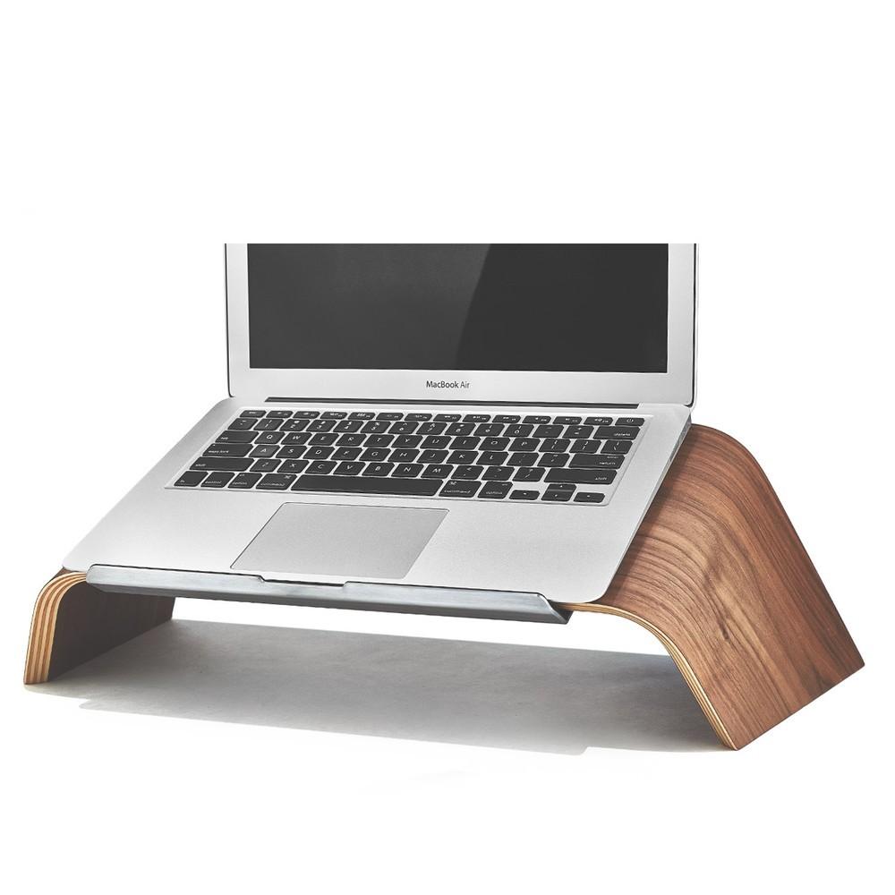 grovemade walnut laptop stand