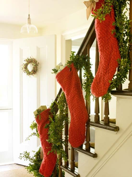 Stocking decoration ideas