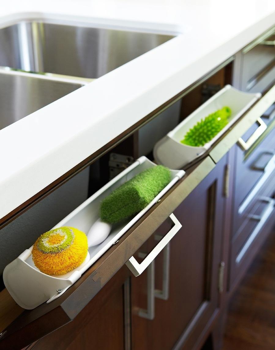tiltable sink drawer kitchen storage