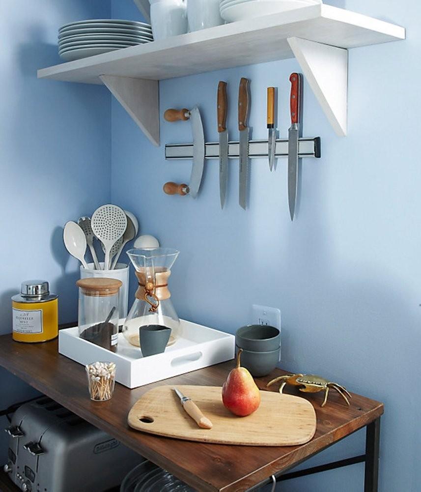 magnetic knife bar kitchen storage