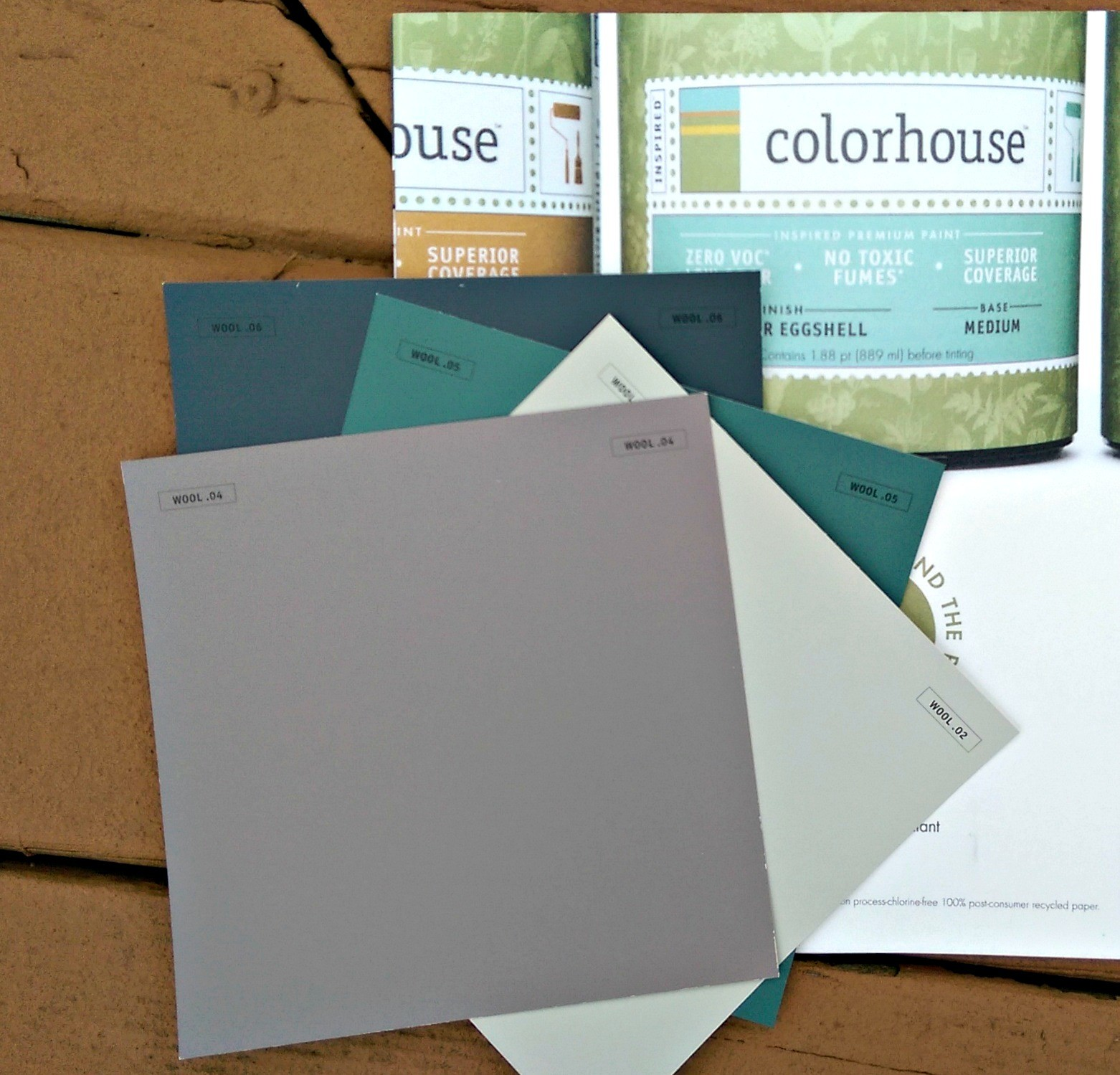 Colorhouse paints non-toxic