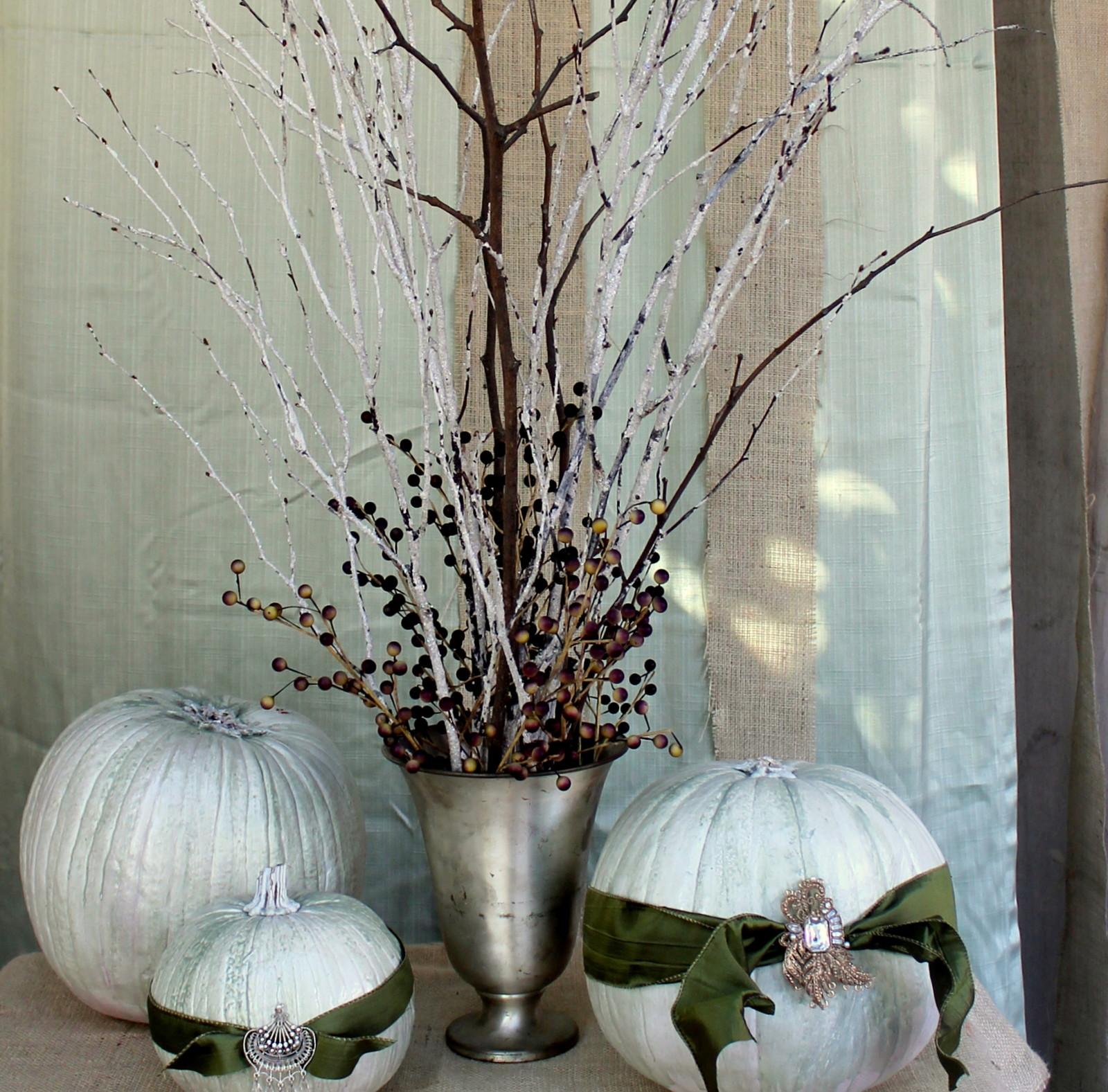 Brass copper pumpkins Halloween