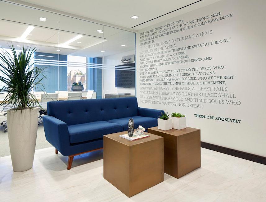 Office design flaw lobby