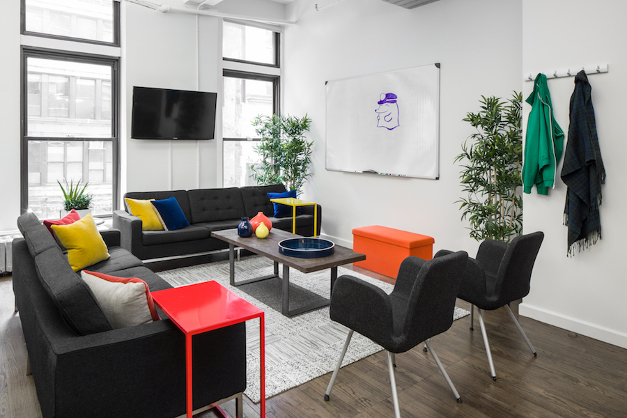Office design mistake hangout