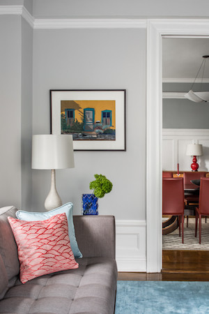 upper west side apartment wall art