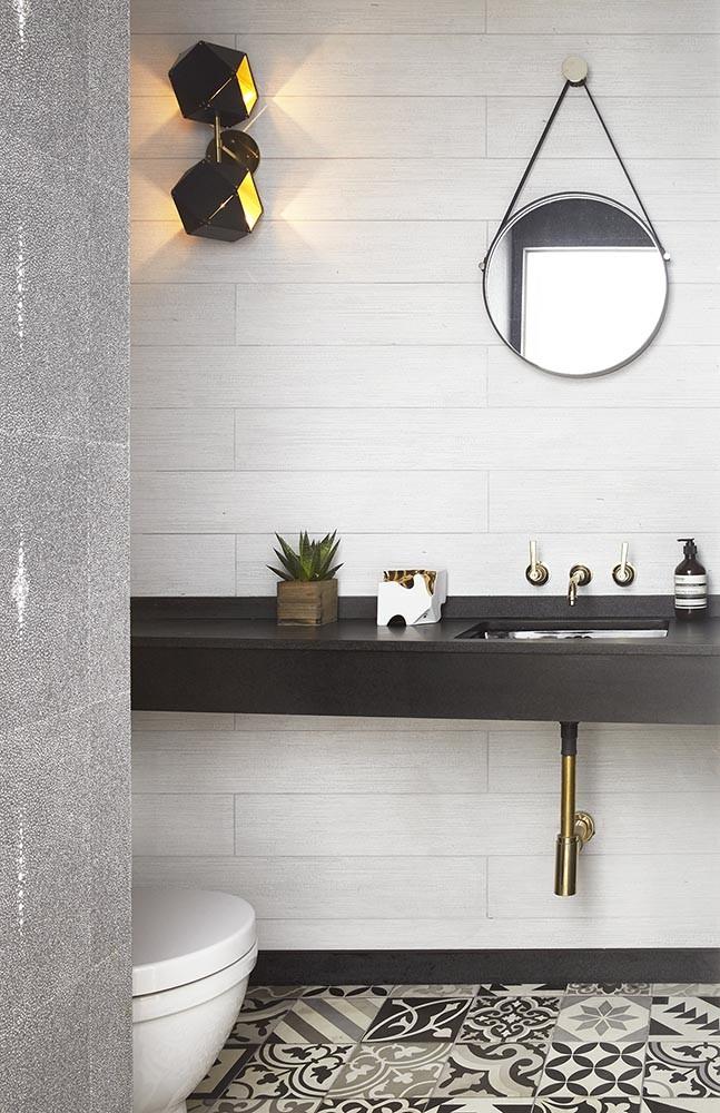 urban loft master bathroom