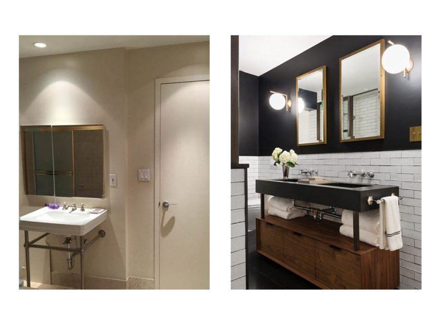 Soho Loft bathroom remodel