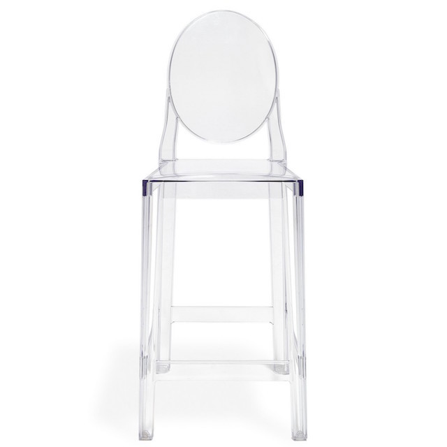 clear ghost counter stool