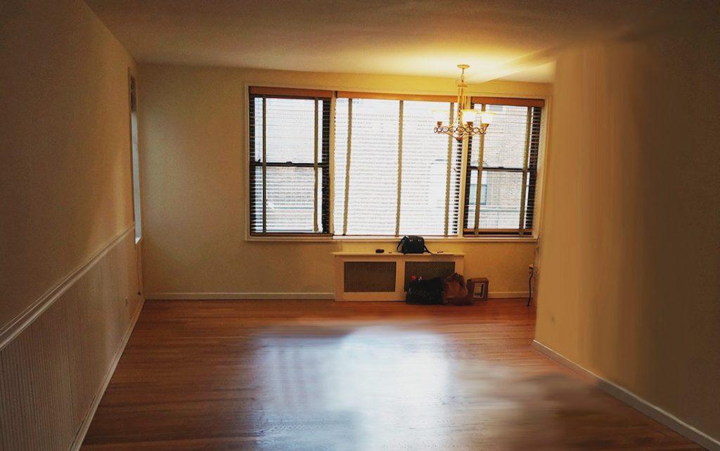Manhattan Cooperative Living Room