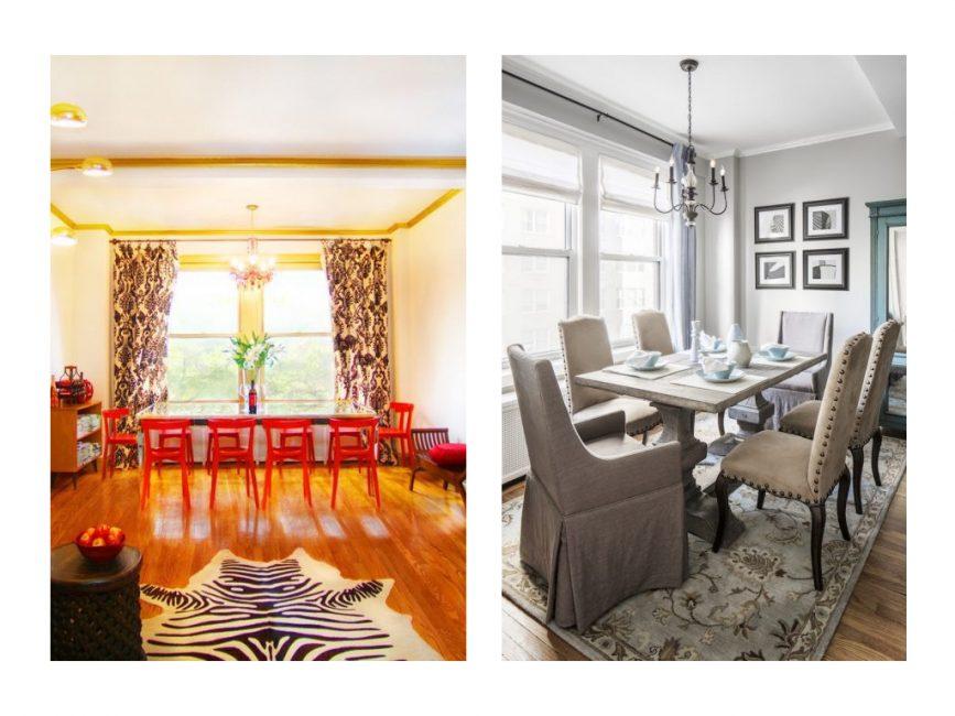 Dining room in Gramercy Park