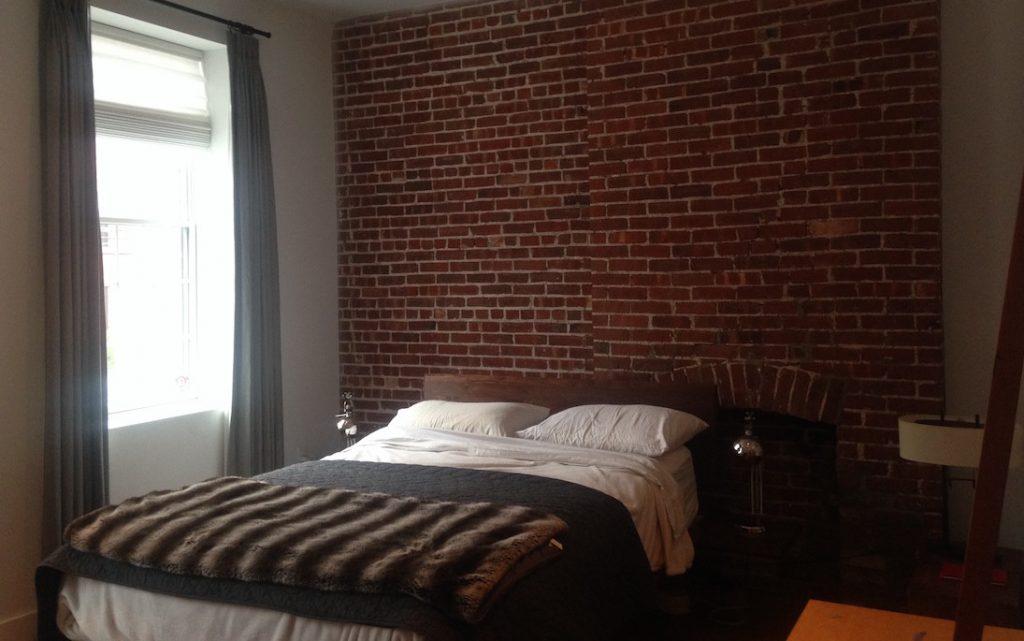 Hoboken townhouse bedroom