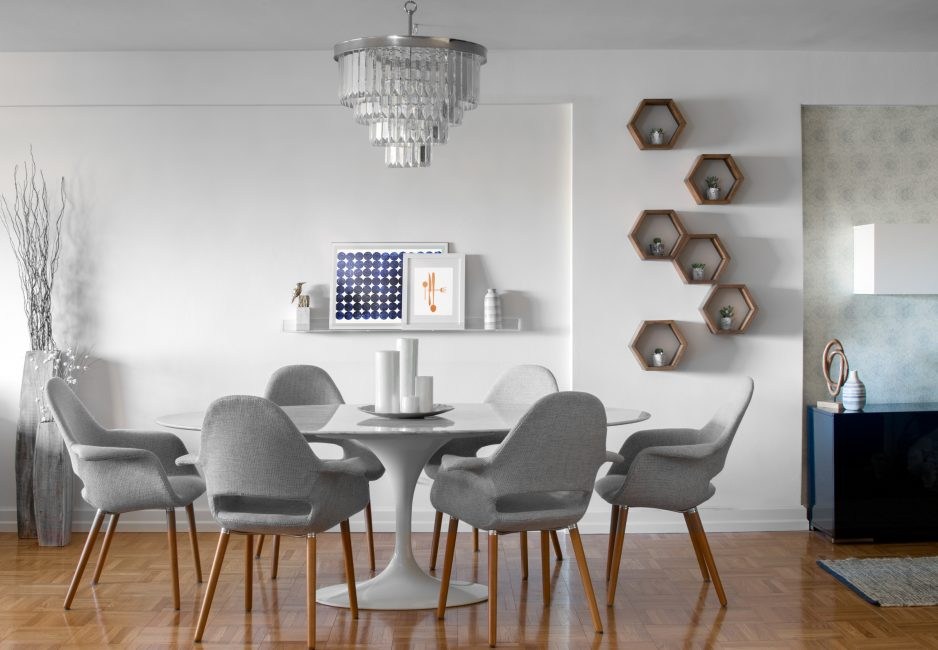 Dining table for family apartments