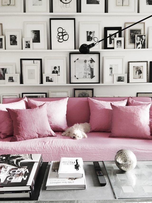 Bulldog gray cut light pillow