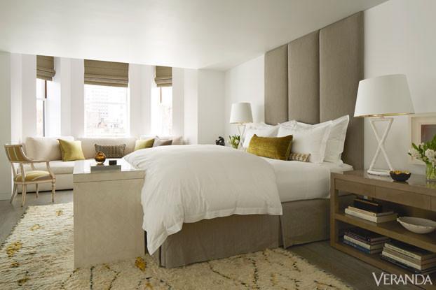 beige white master bedroom