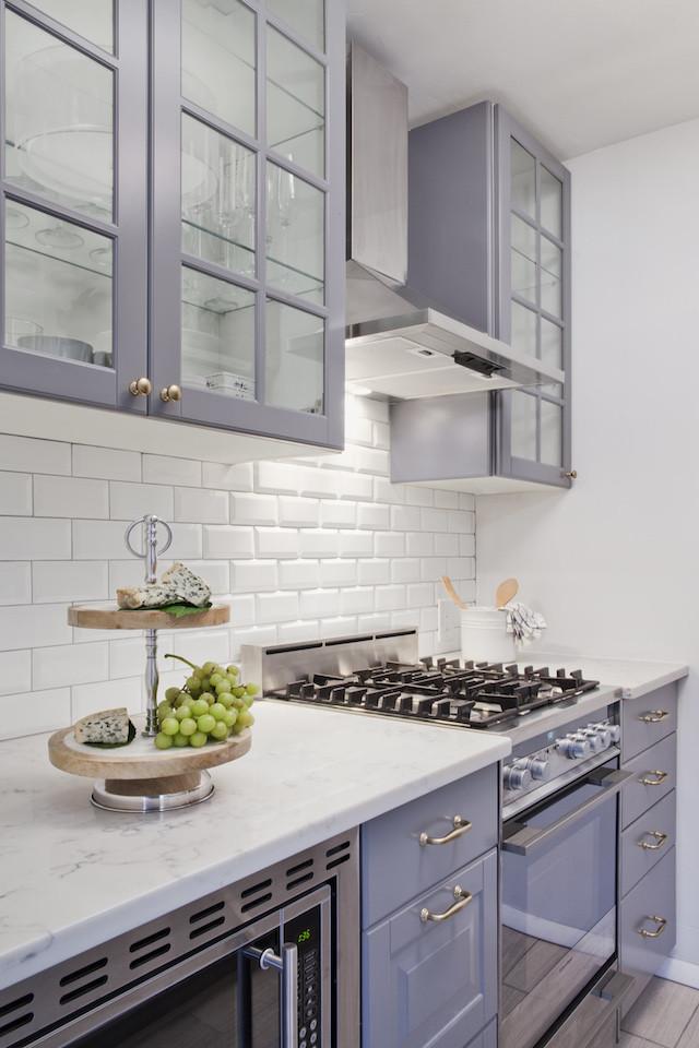 gray New York kitchen