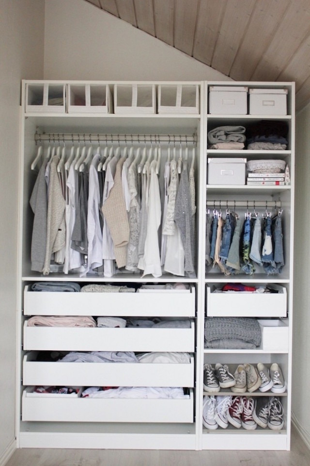 white closet shelf dividers