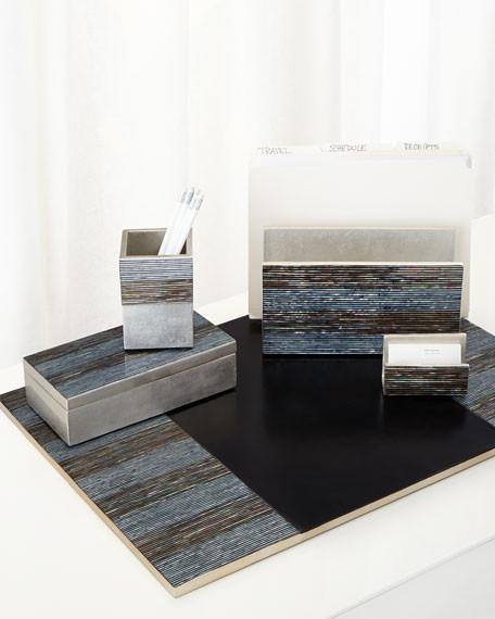 Abalone Shell Desk Accessories