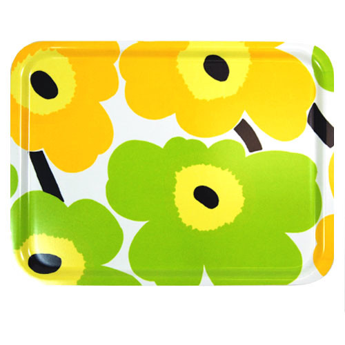 yellow lime flower tray