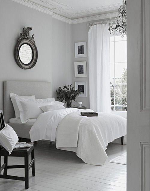 dove gray bedroom