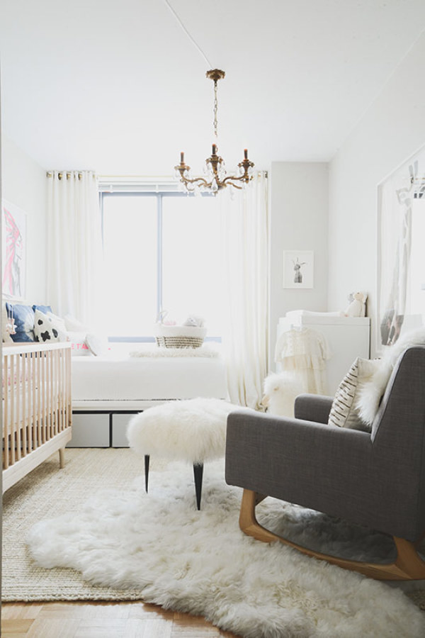 natural light bright children's room