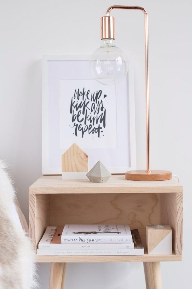inspiring bedside table