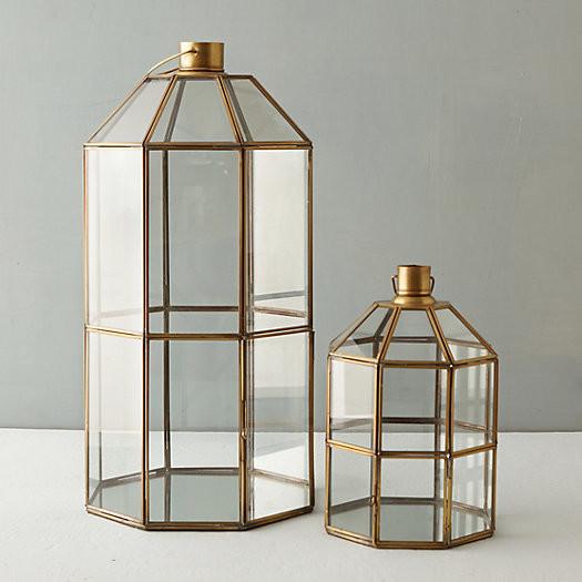 Brass window lanterns