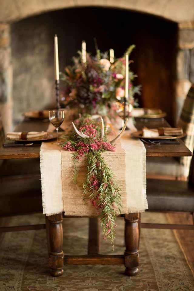 rustic lodge dining room decorating ideas