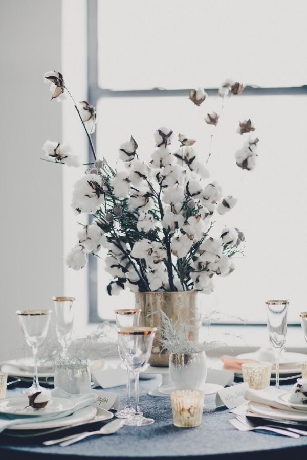 winter white table decor