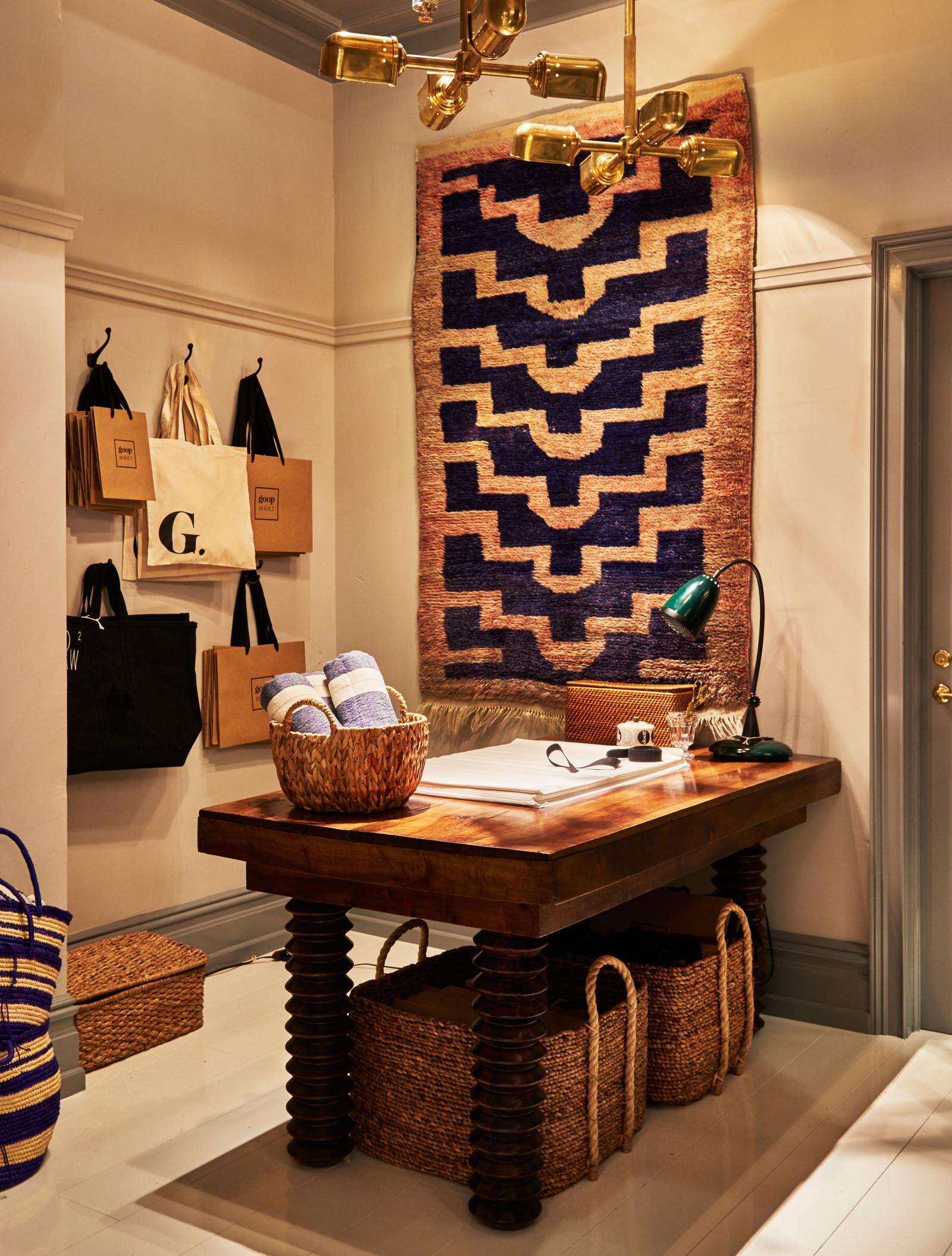 Interior design for retail