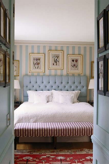 tufted headboard bedroom decor