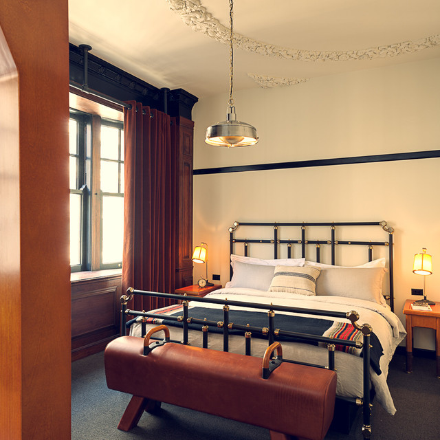 Vintage hospitality interior design