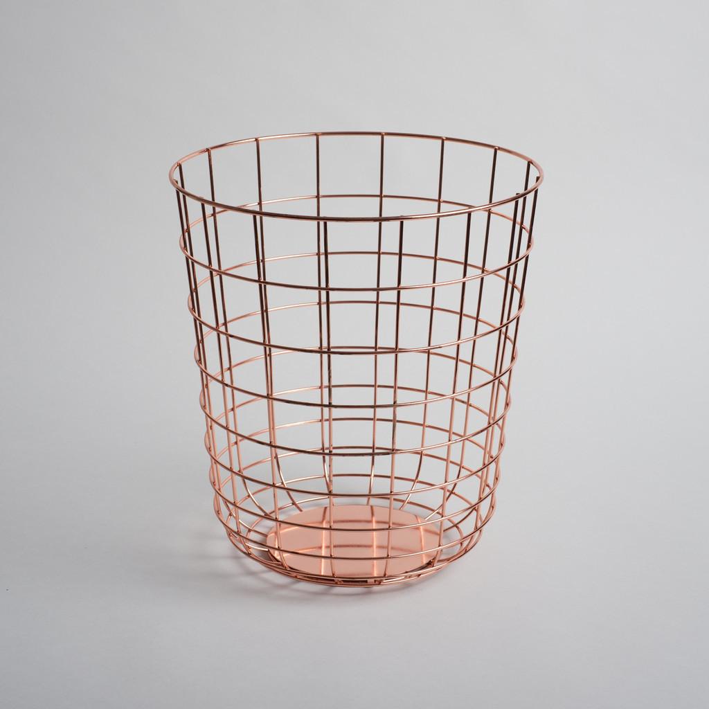 Copper wire container