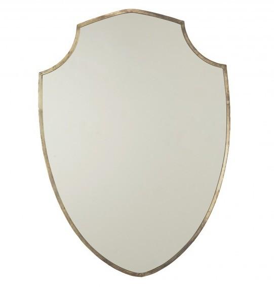 Gold shield mirror