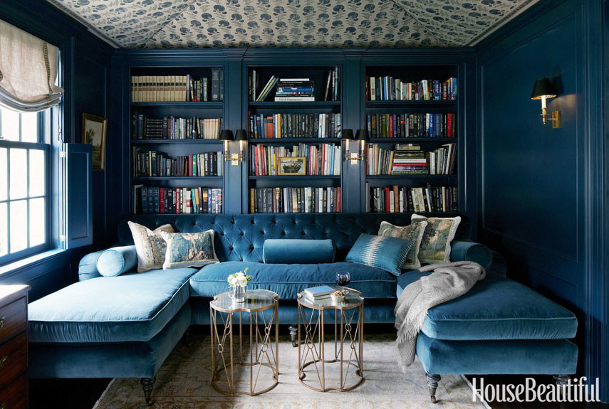tufted velvet cut library