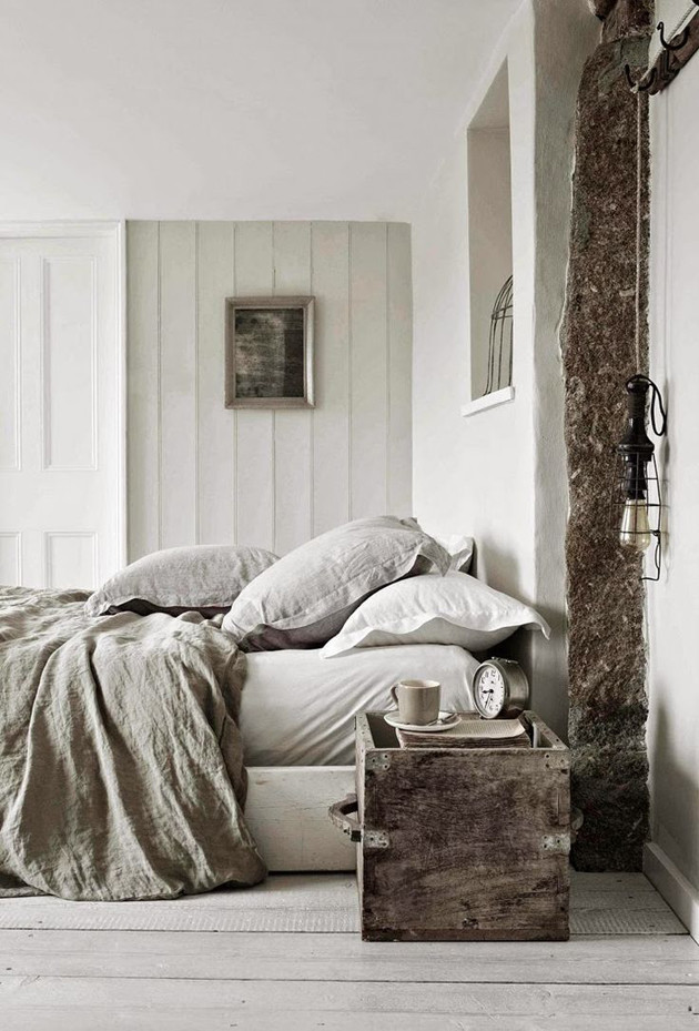 neutral interior design bedroom