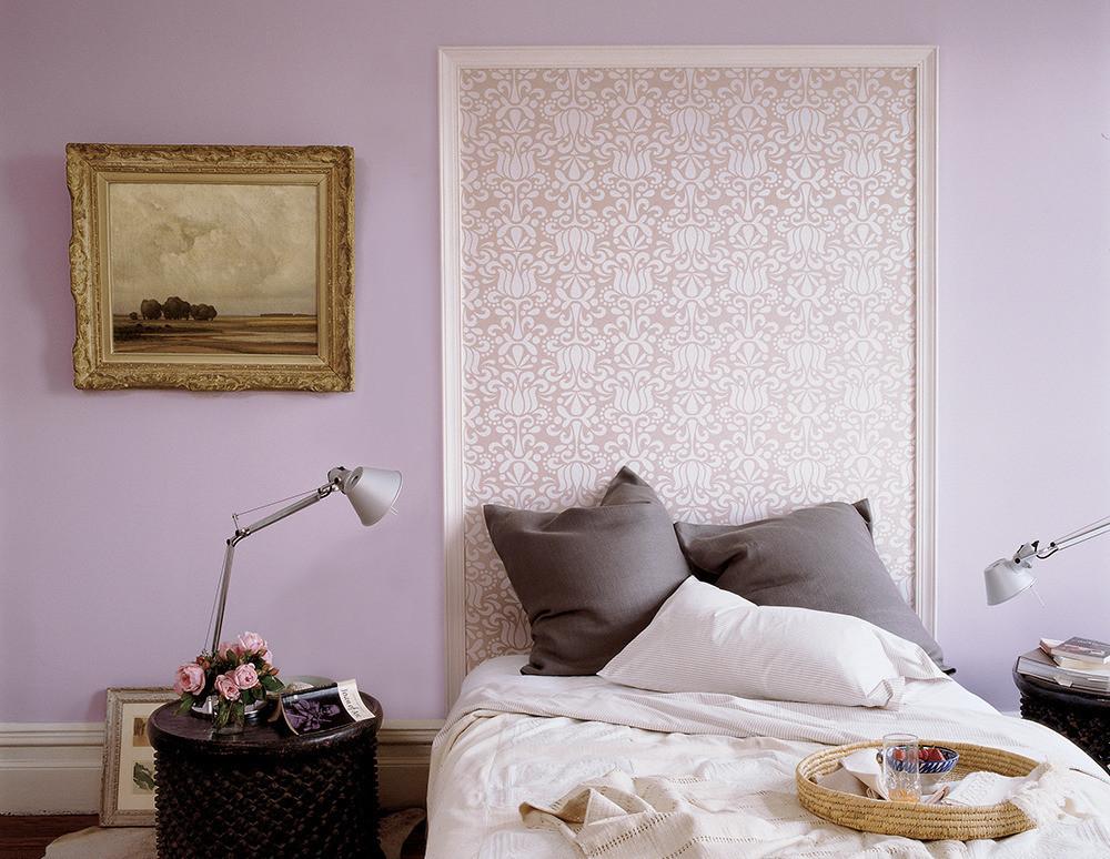 Lavender bedroom design
