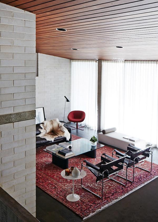 marcel breuer chairs living room interior