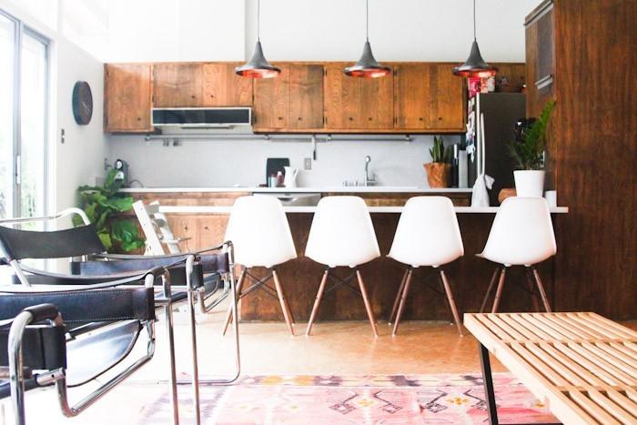 Breuer chairs modern interior design