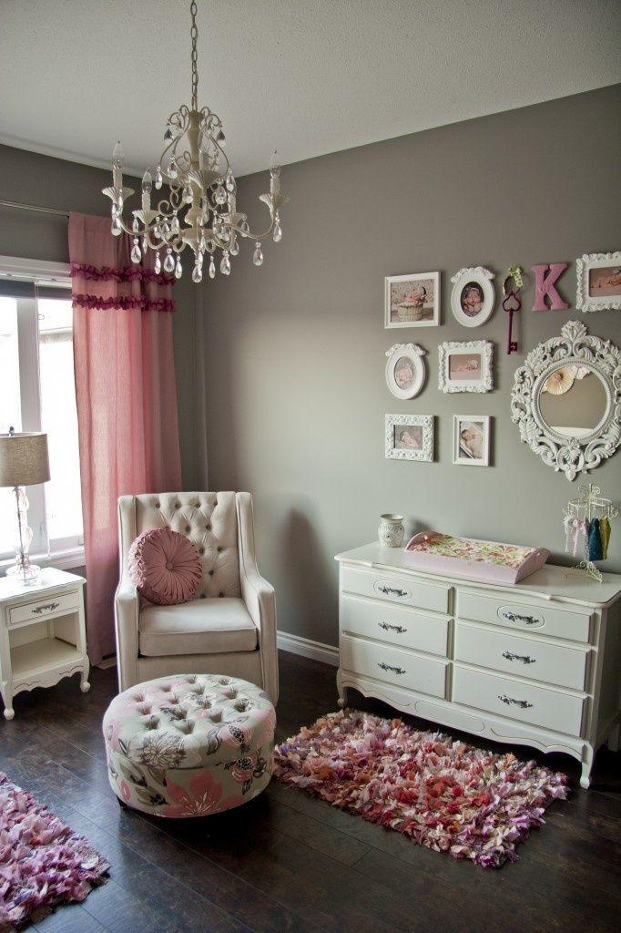 Chandelier girls bedroom ideas