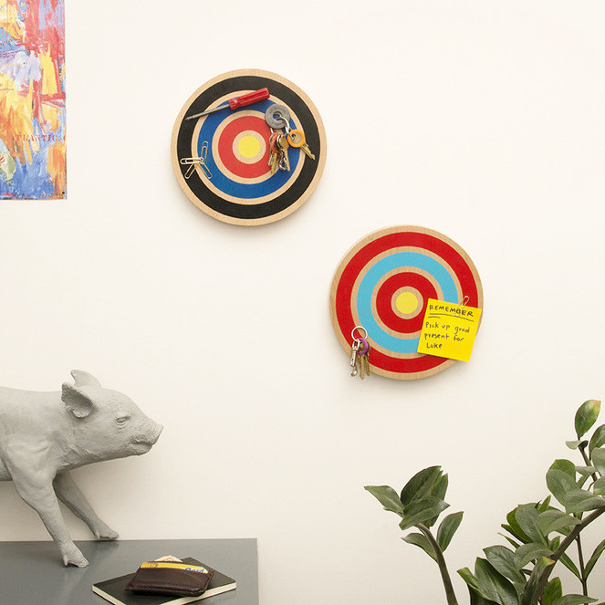 Dartboard eclectic wall art