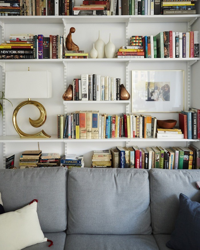 Bookshelf home organization