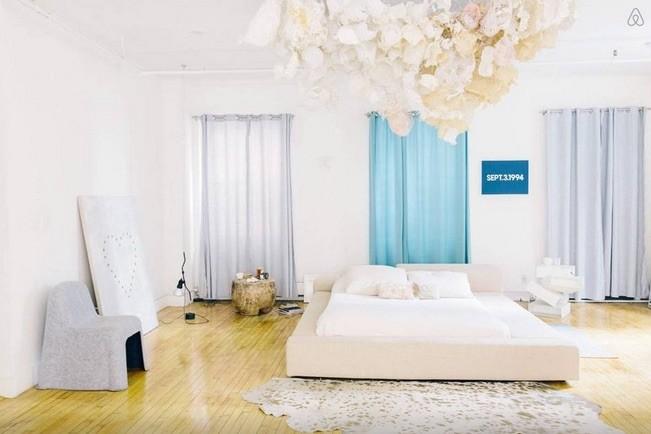 spacious designer bedroom