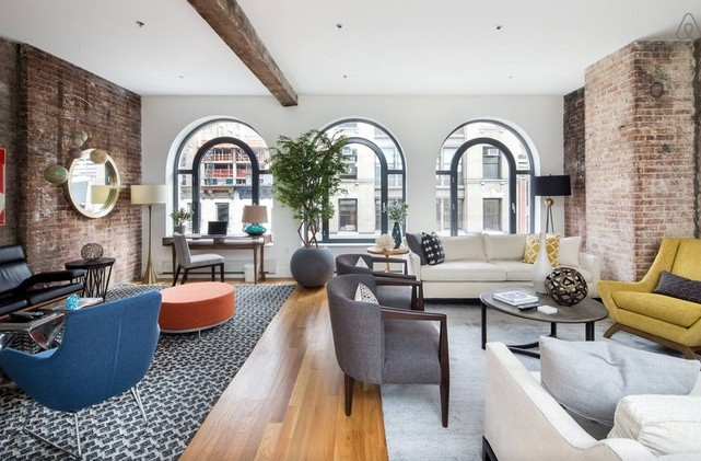 New York apartment living room