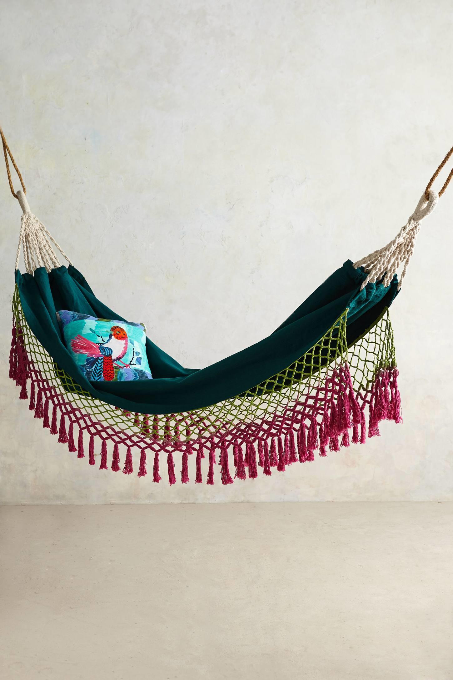 Lined hammock